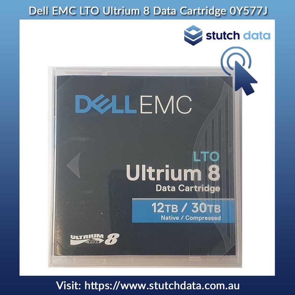 Image of Dell EMC LTO Ultrium 8 Data Cartridge 0Y577J