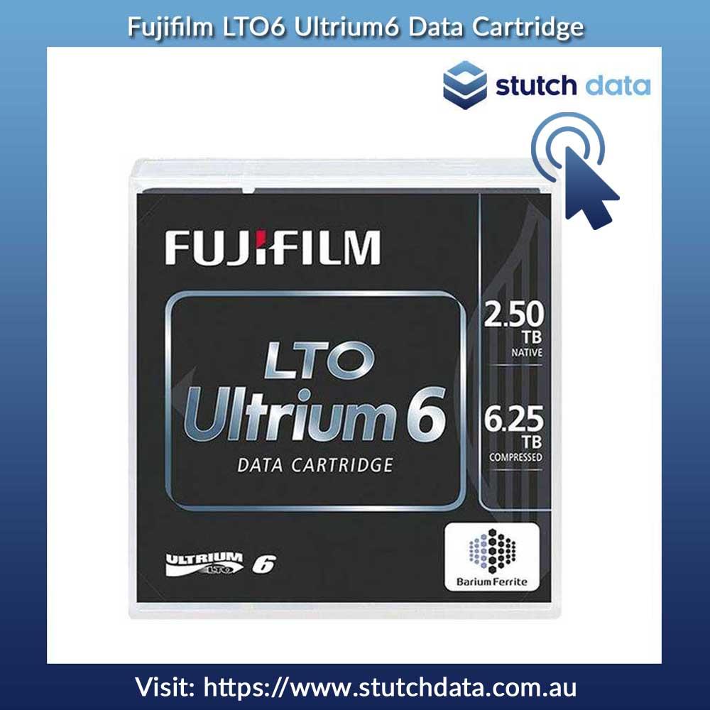 Image of Fujifilm LTO6 Ultrium6 Data Cartridge