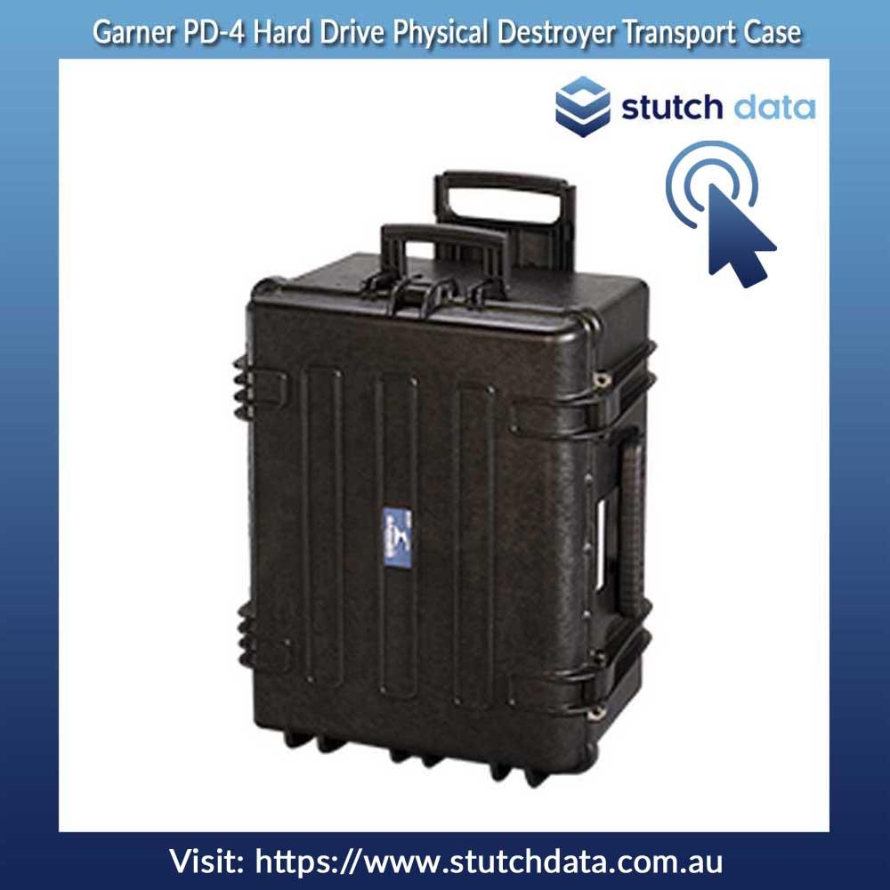 Image of Garner PD-4 Hard Drive Physical Destroyer Transport Case