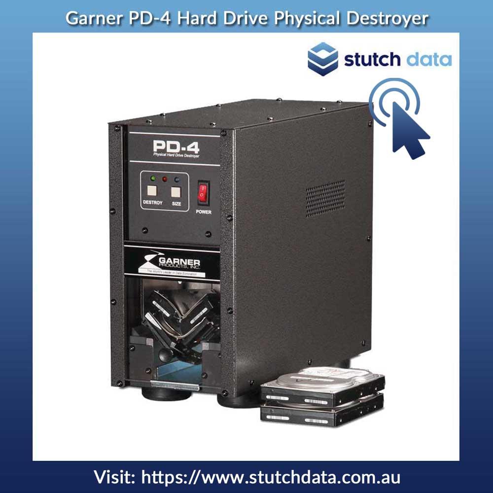 Image of Garner PD-4 Hard Drive Physical Destroyer