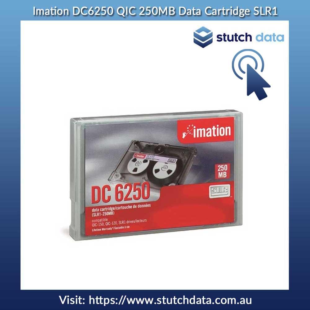 Image of Imation DC6250 QIC 250MB Data Cartridge SLR1
