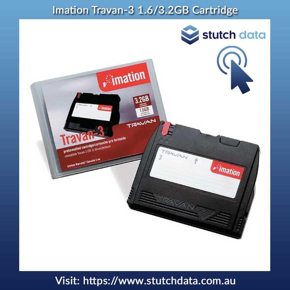 Image of Imation Travan-3 1.6/3.2GB cartridge