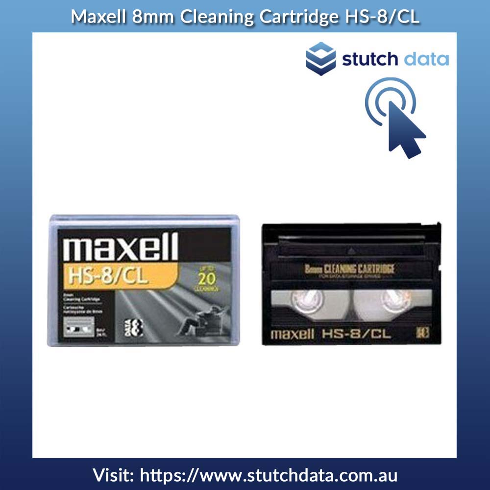 Maxell 8mm Cleaning Cartridge HS-8/CL 186592