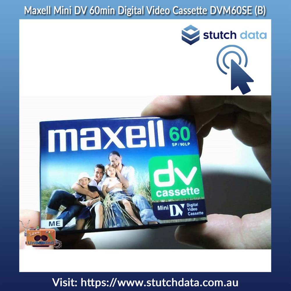 Maxell Mini DV 60min Digital Video Cassette DVM60SE