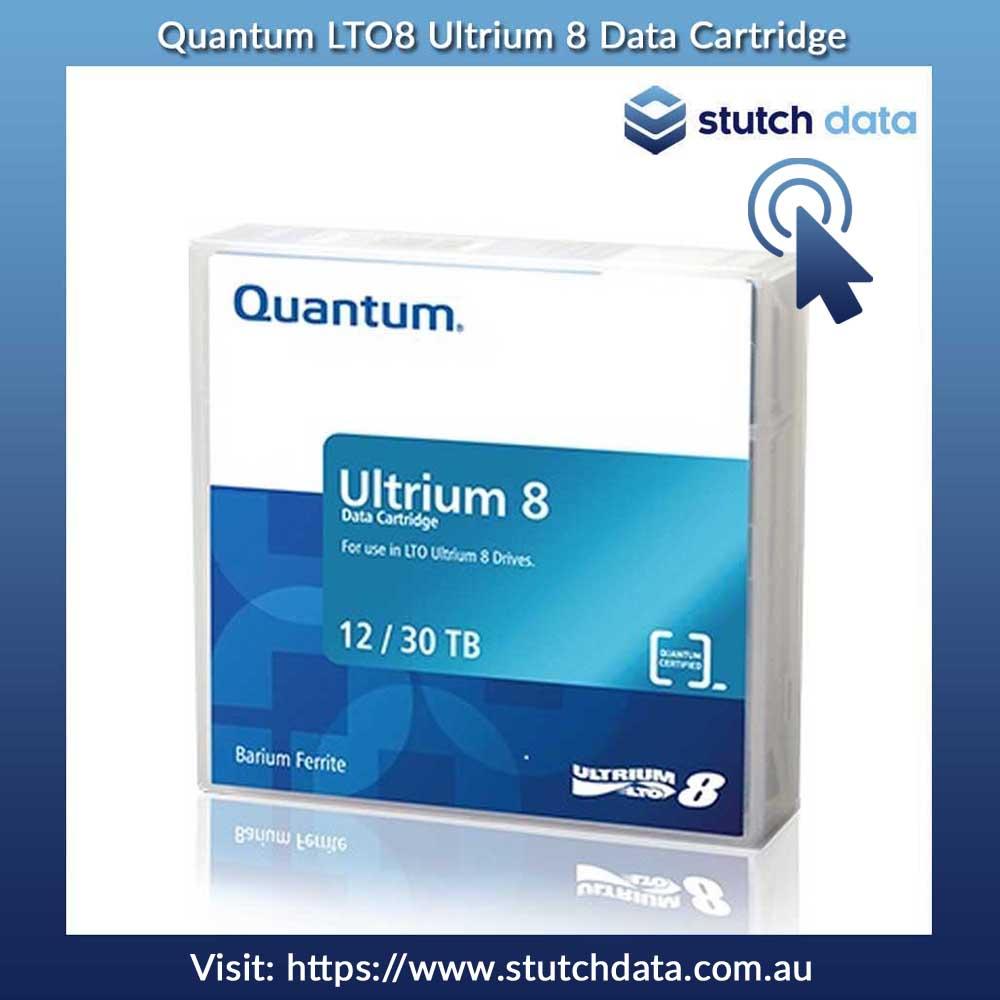 Image of Quantum LTO8 Ultrium 8 Data Cartridge