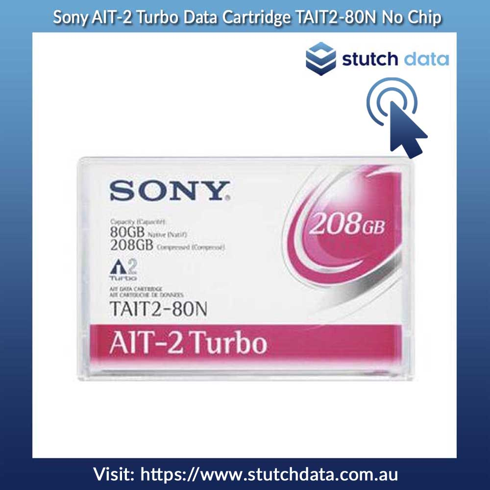 Image of Sony AIT-2 Turbo Data Cartridge TAIT2-80N No Chip