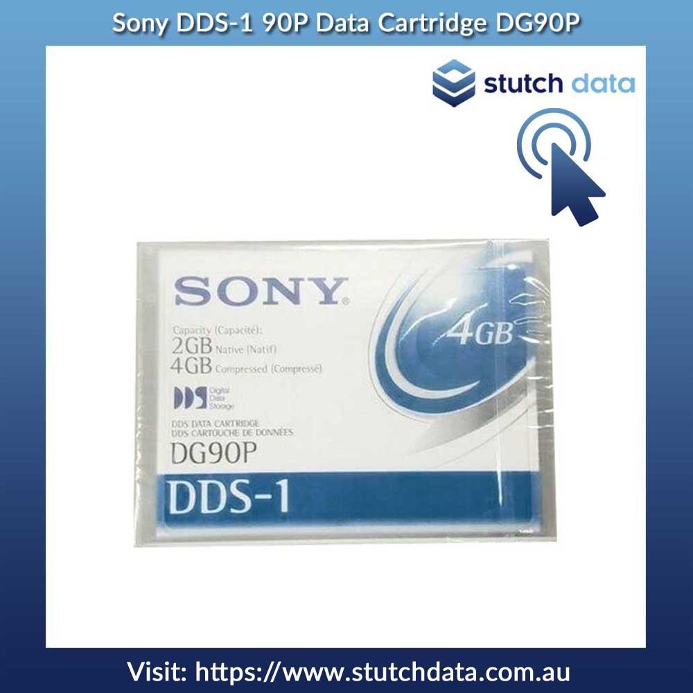 Sony DDS-1 2GB 4GB 90m Data Cartridge DG90P