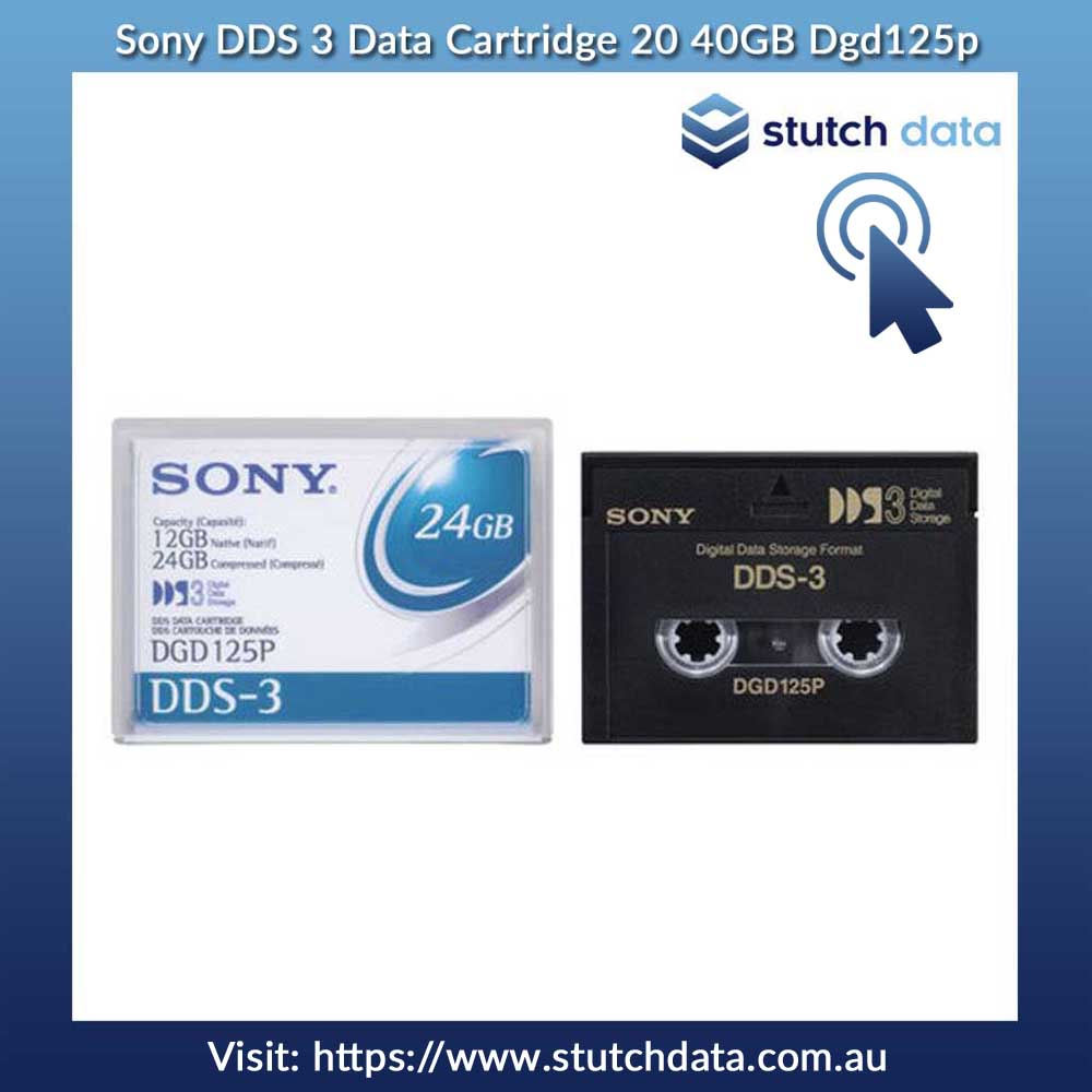 Image of Sony DDS-3 Data Cartridge DGD125P