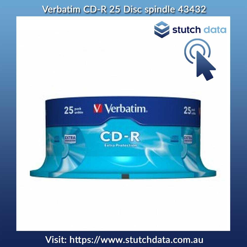 Image of Verbatim CD-R 25 Disc spindle 43432